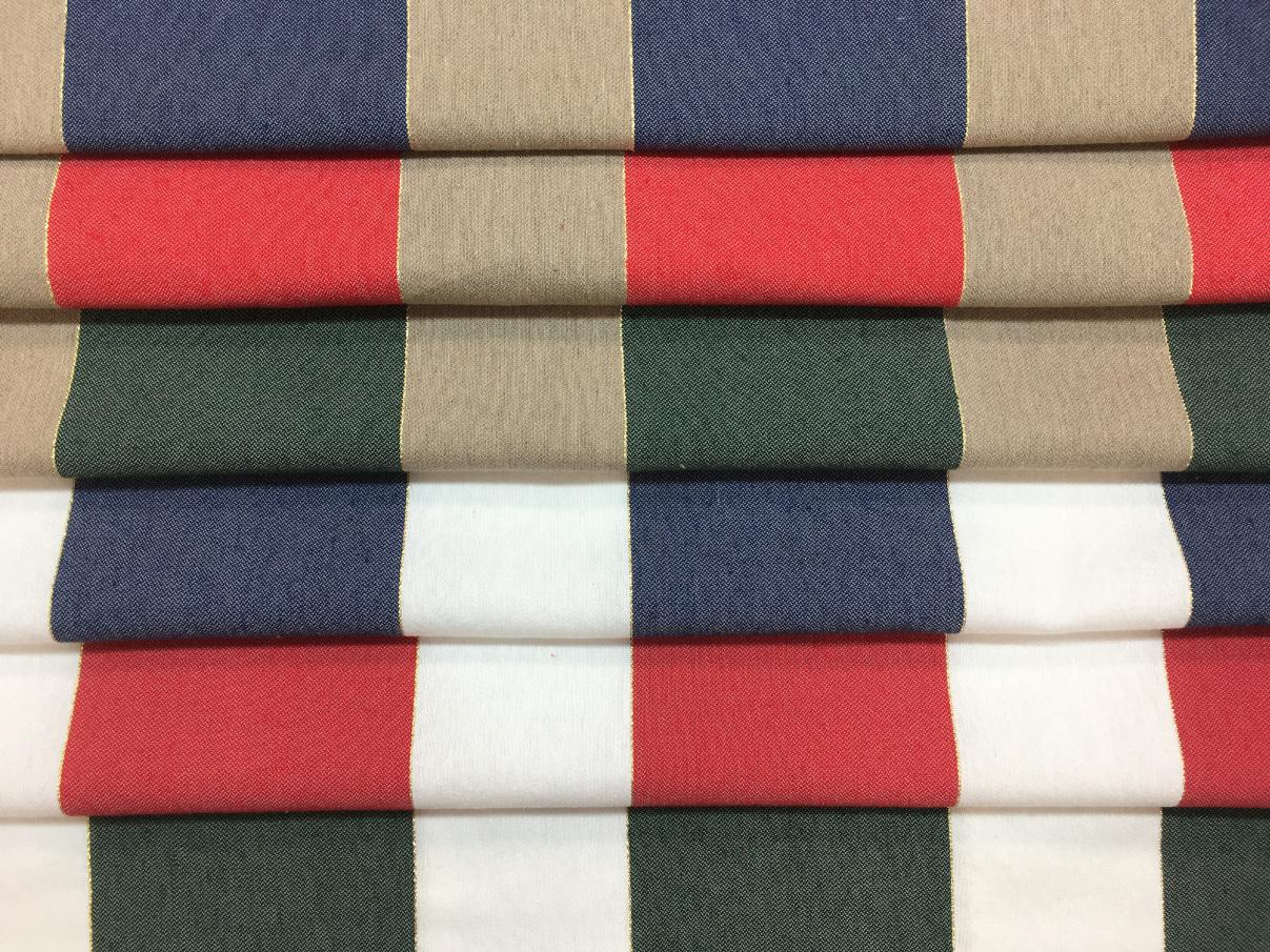 inmatex tejido hogar rayas lurex navidad distintos colores