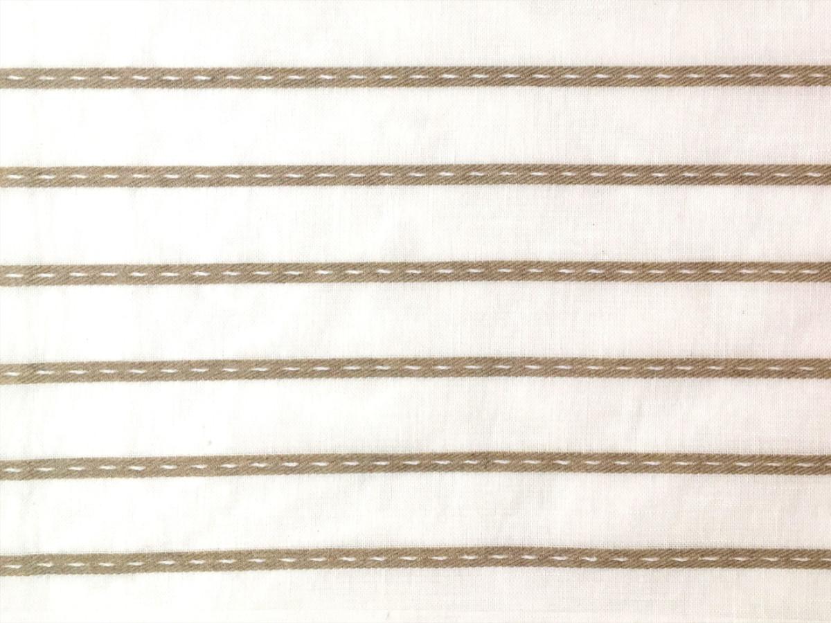 inmatex tejido visillo lino pequeño pespunte