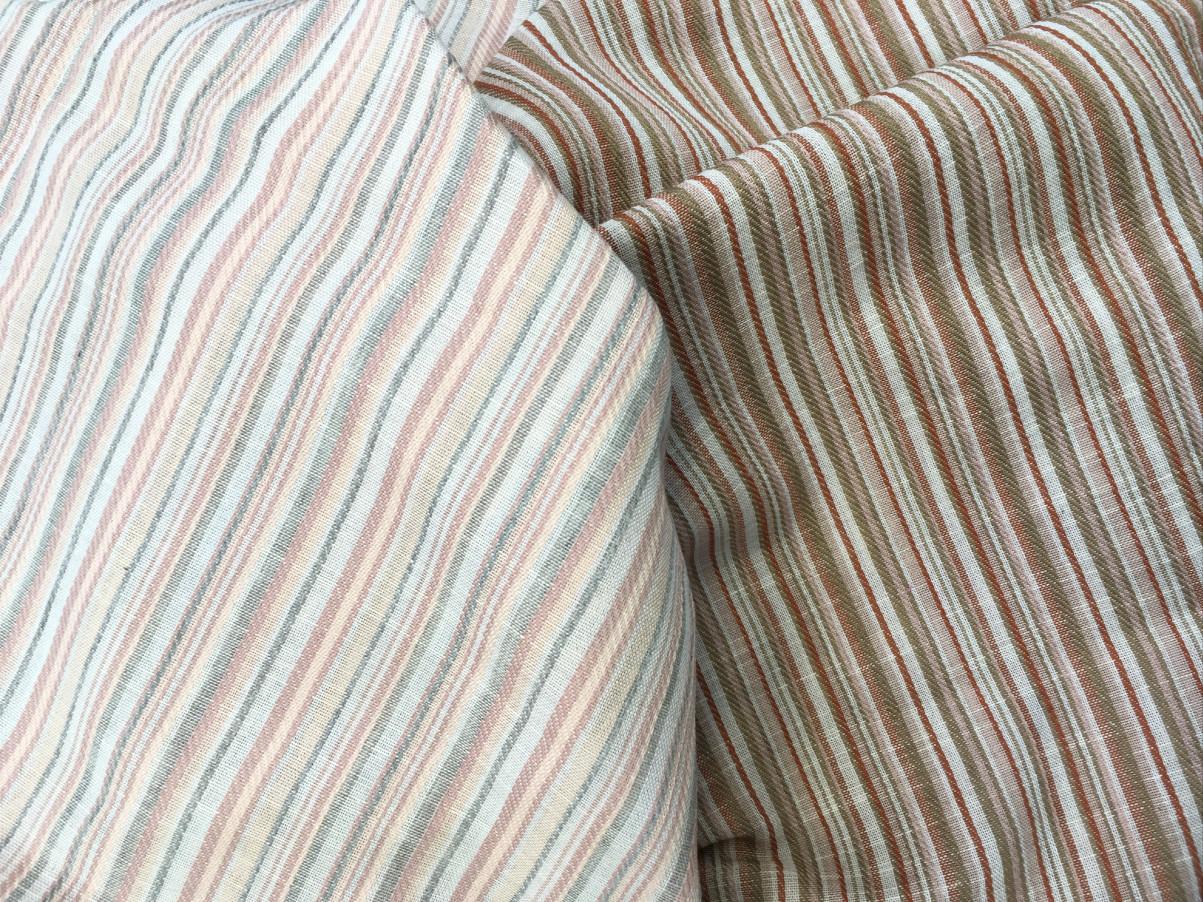 inmatex tejido moda rayas finas colores