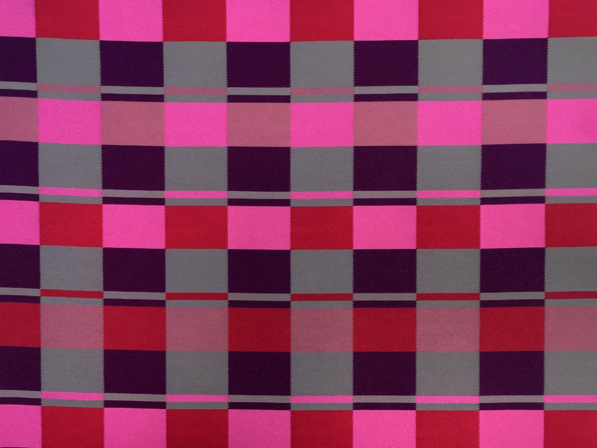 inmatex tejido moda cuadros colores
