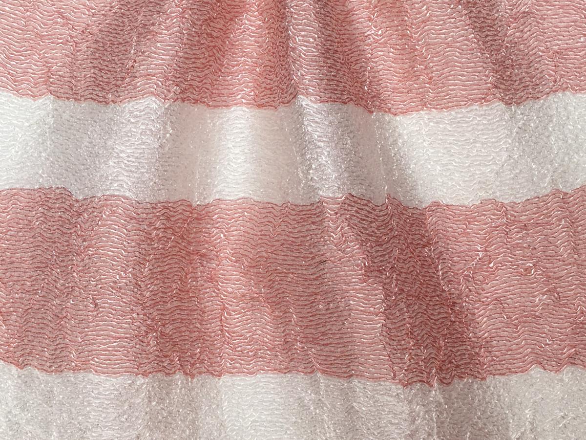 inmatex tejido moda rayas brillo acabado stropicciato