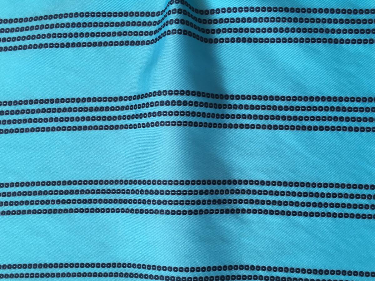 inmatex tejido moda rayas de algodón aspecto lentejuelas