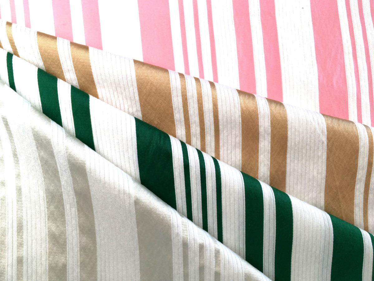 inmatex tejido moda rayas color y lurex