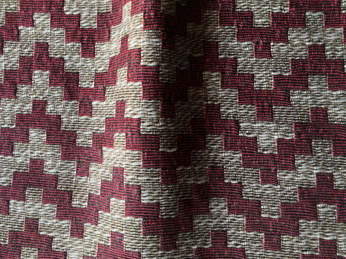 inmatex tejido zigzag color y lurex