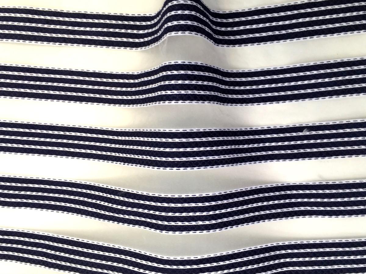 inmatex tejido moda infantil rayas color y transparentes