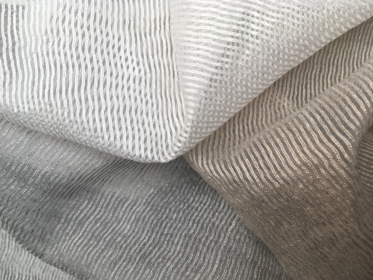 inmatex tejido semitransparente hilo distintos colores