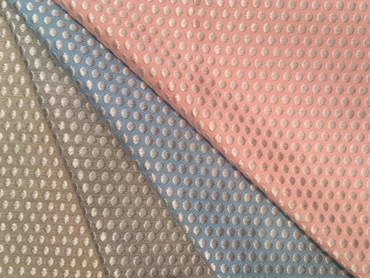inmatex tejido moda bolitas color