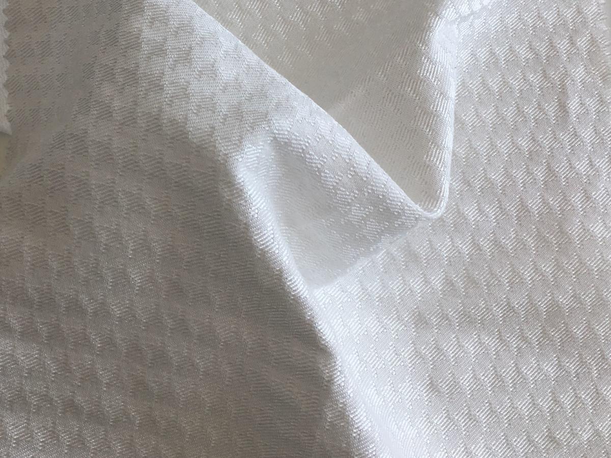 inmatex tejido moda pata de gallo blanco