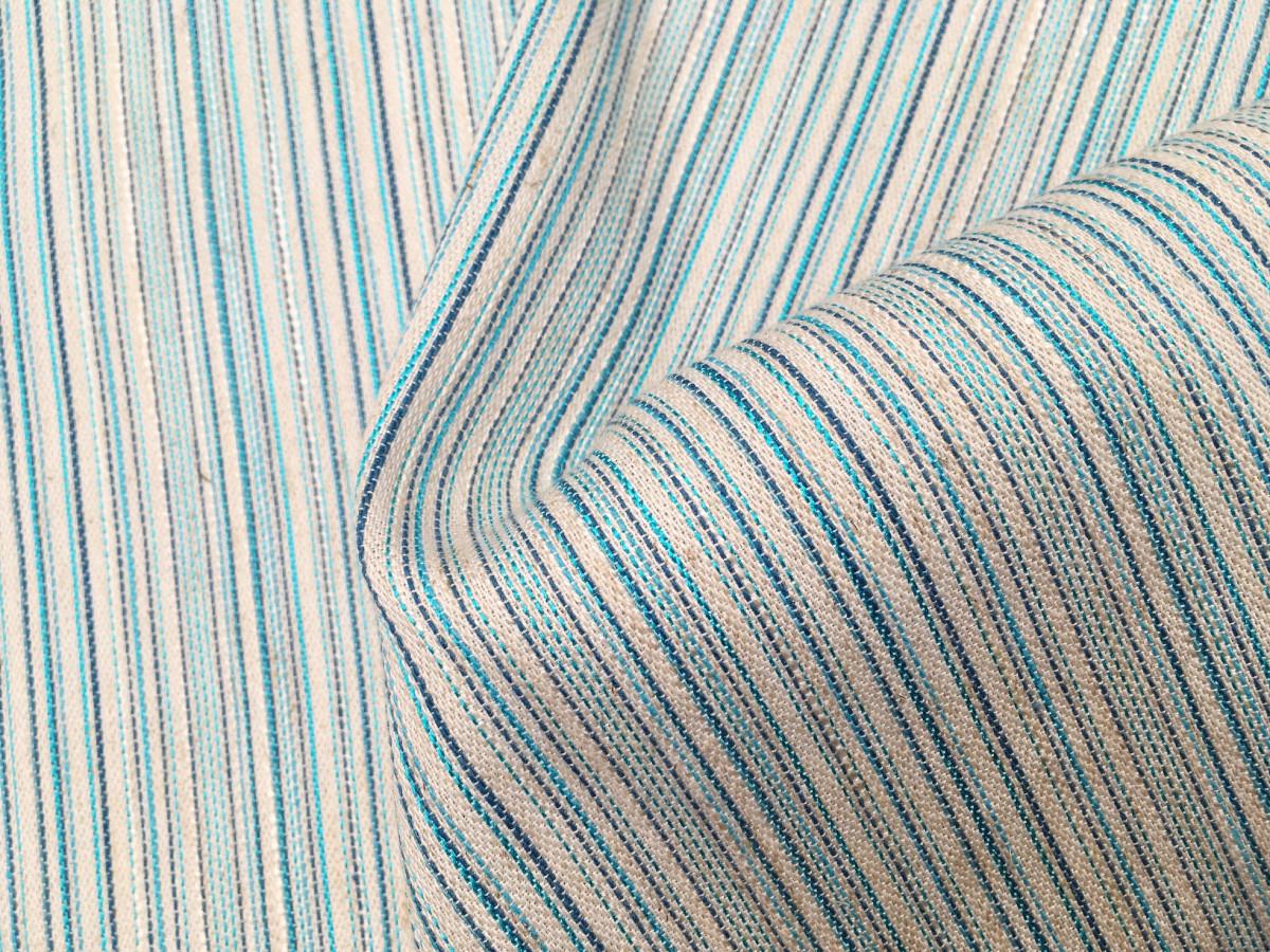 inmatex tejido moda rayas color brillo mate