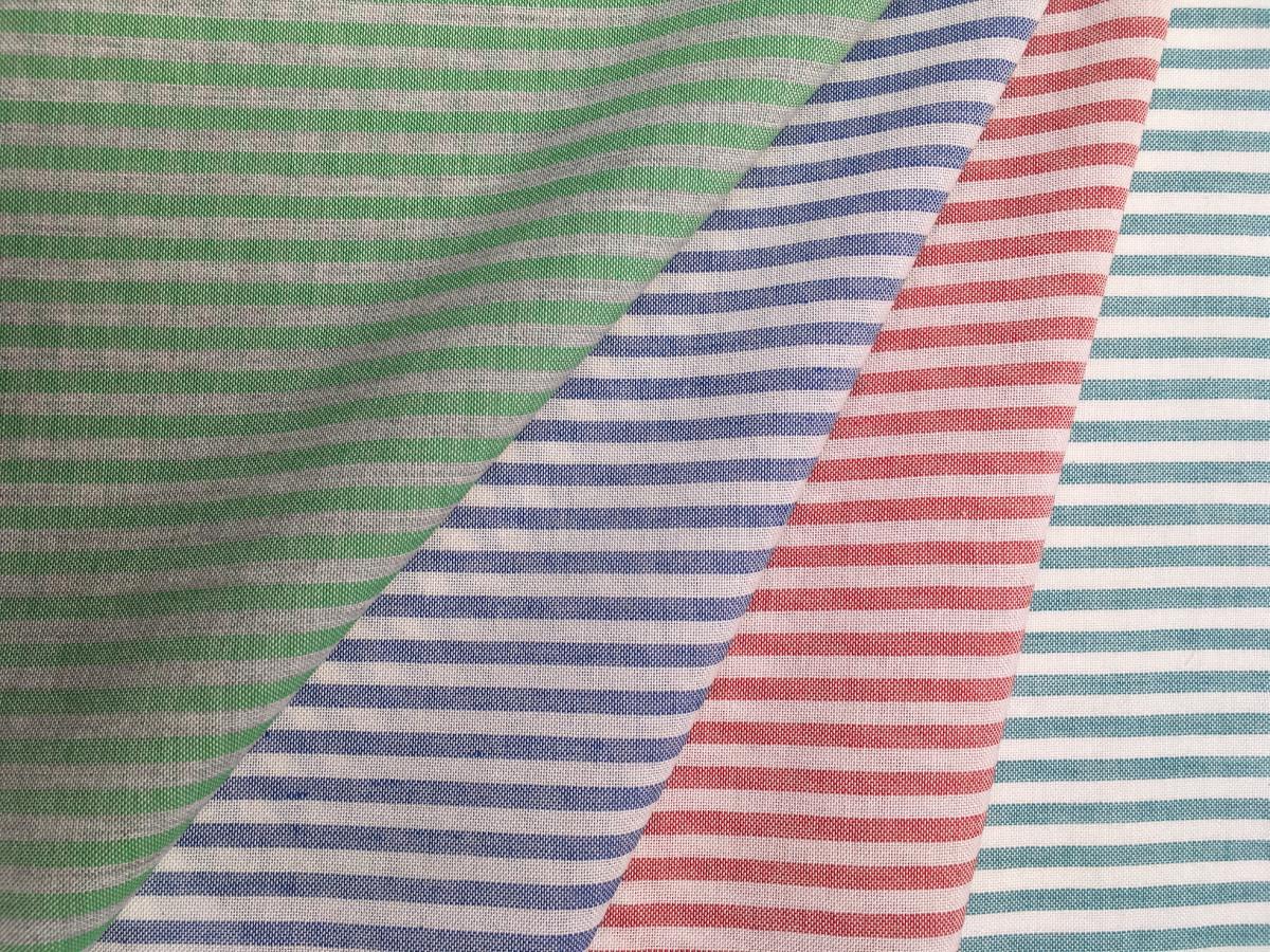 inmatex tejido moda rayas viscosa color