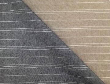inmatex tejido algodón hogar rayas lurex