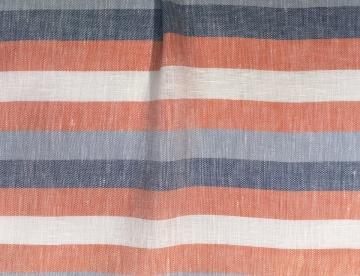 inmatex tejido moda rayas lino viscosa color
