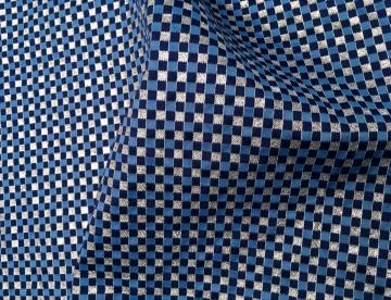 inmatex tejido moda cuadritos color y lurex