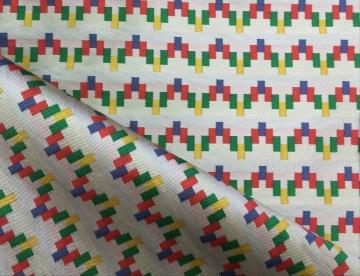 inmatex tejido moda pequeño zig-zag color