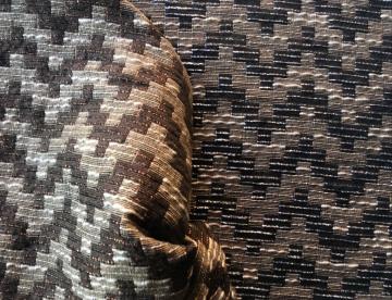 inmatex tejido dibujo zigzag color y lurex