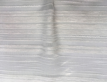 inmatex tejido moda semitransparente hilos blancos de fantasía
